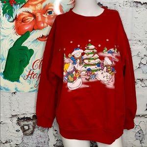 Vintage ugly Christmas sweatshirt XL